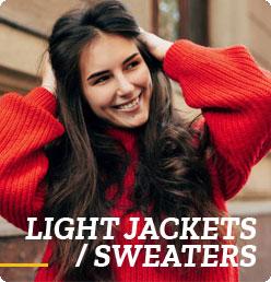 Light Jackets/Sweaters